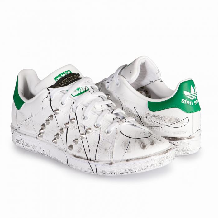 36f81e7d129114 STAN SMITH ENEMY   Il Maltese Lab - scarpe personalizzate
