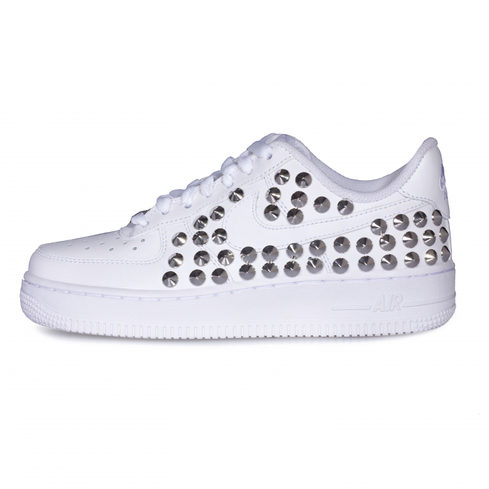 nike air force basse glitter borchie