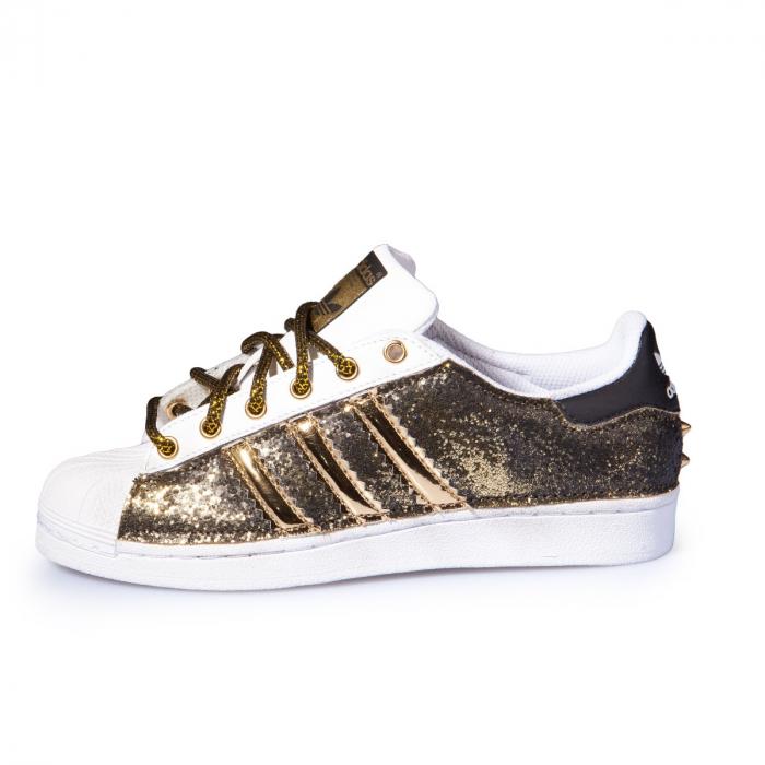 Adidas Superstar goldblack mod Zurigo | Seddys scarpe