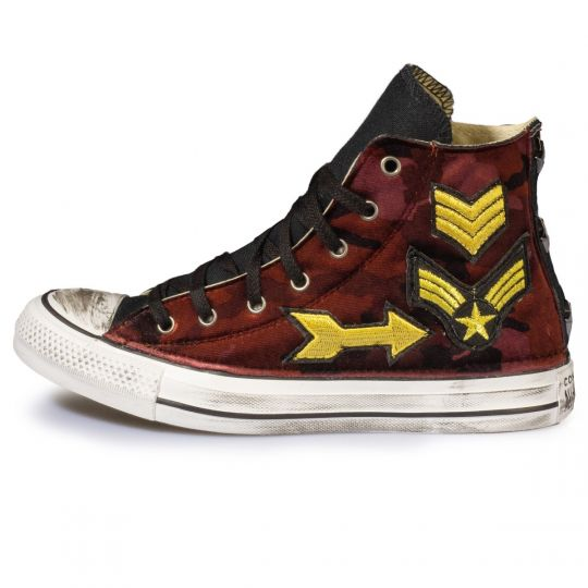 all star hi CAMO RED 7 Nation ARMY xx