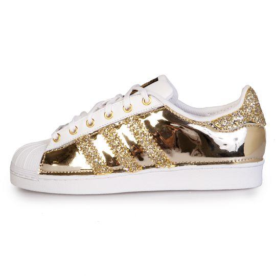 adidas SUPERSTAR DMC RUNAWAYS VINYL GOLD
