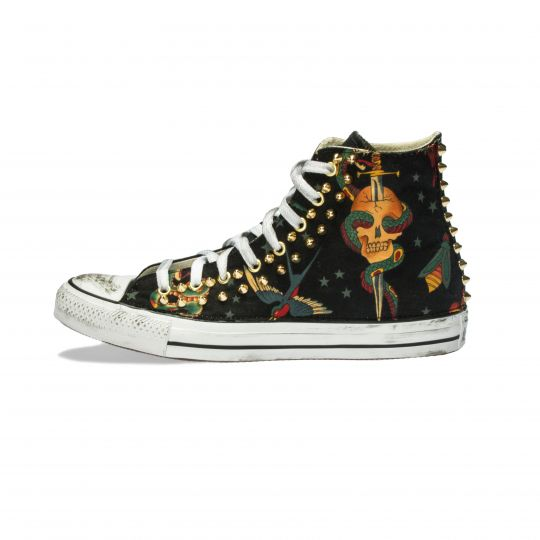 all star TATTOO BLACK  xx