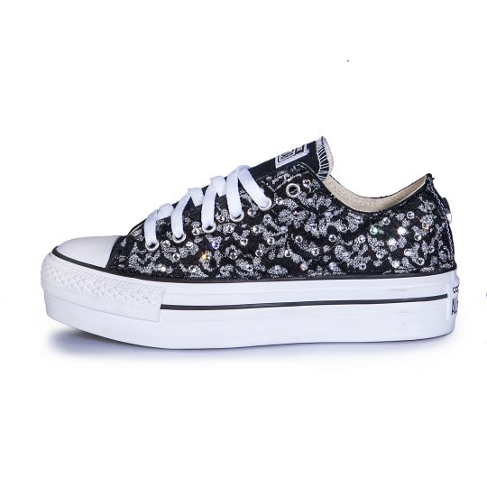 platform low BLACK LACY SWAROVSKi
