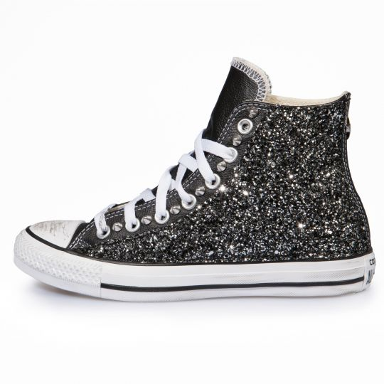 all star BLACK RUNAWAYS PELLE