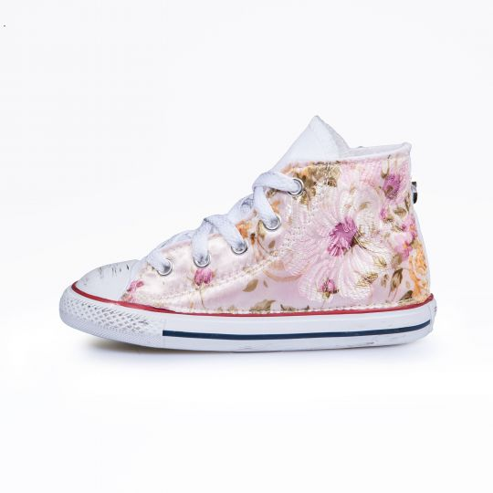 All star hi WHITE GARDEN Kid