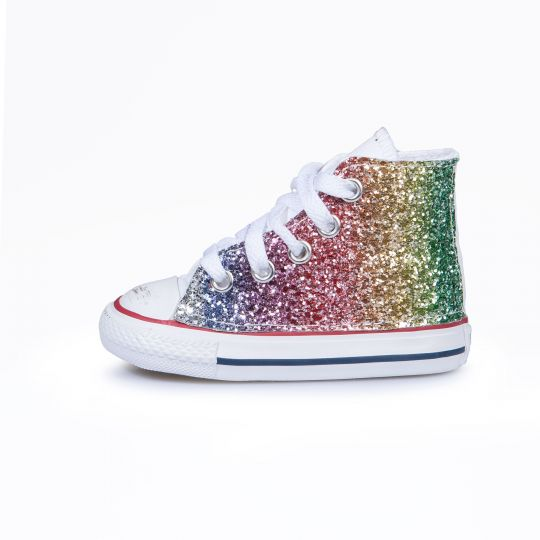 All star hi RAINBOW GLITTER Kid
