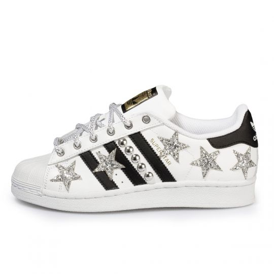 SUPERSTAR SILVER STARS AND STUDS