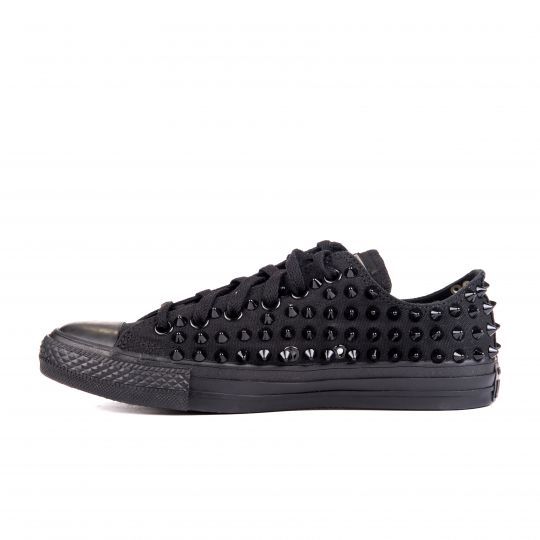 all star MONOCHROME BLACK FULL low