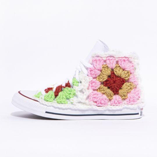 All star hi geo crochet