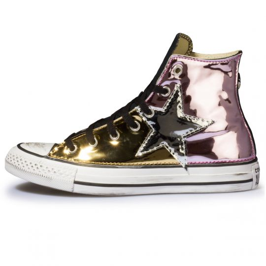 ALL STAR BLACK MULTI VINYL STARS
