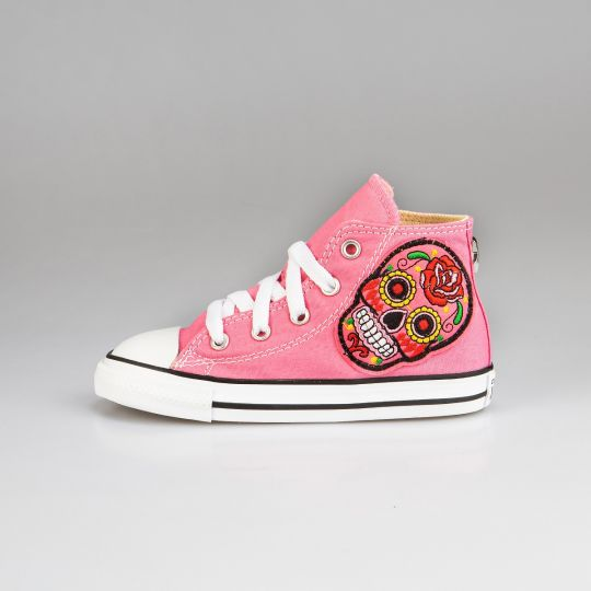 All Star Hi Rose Patch Kid