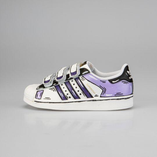 Adidas Superstar Cosplay Strap Kid