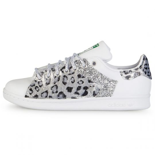ADIDAS STAN SMITH ONE silver LEO STAR