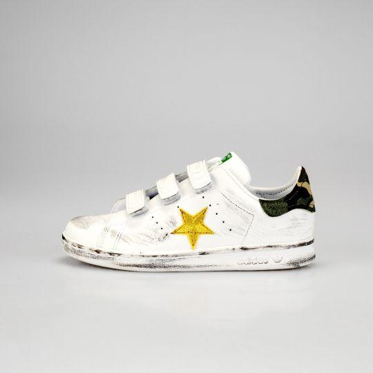 Adidas Stan Smith Strap Camo Star