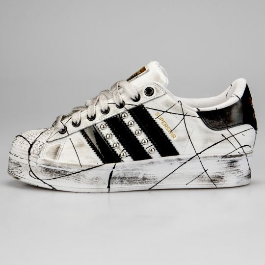 Adidas Superstar Bold Enemy Platform