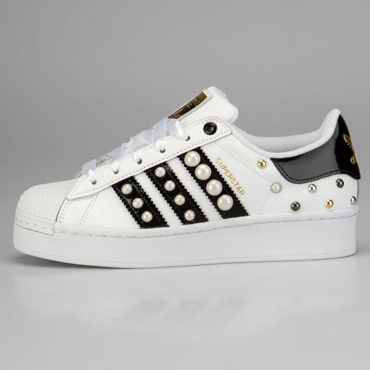Adidas Superstar Bold Pearl Platform