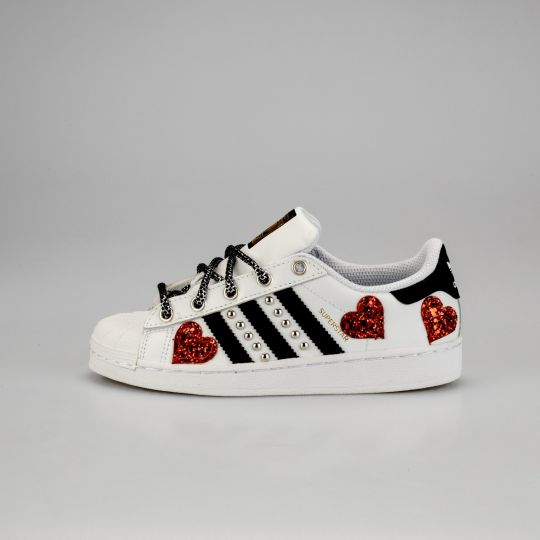 Adidas Superstar Heart of Glass Kid