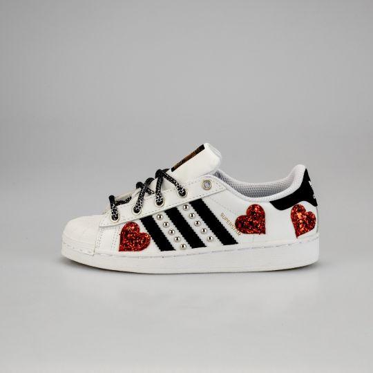 Adidas Superstar Heart of Glass Kid