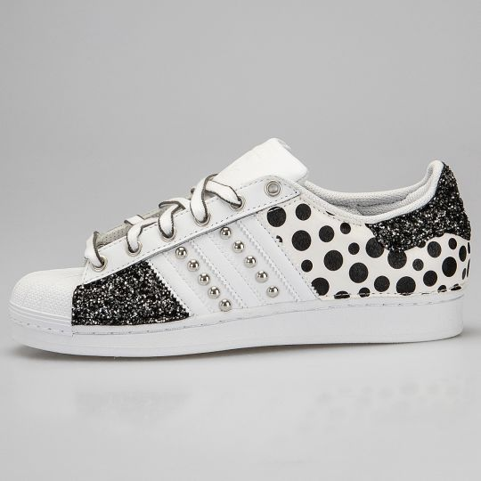 Adidas Superstar IMLS Space Pois Glitter
