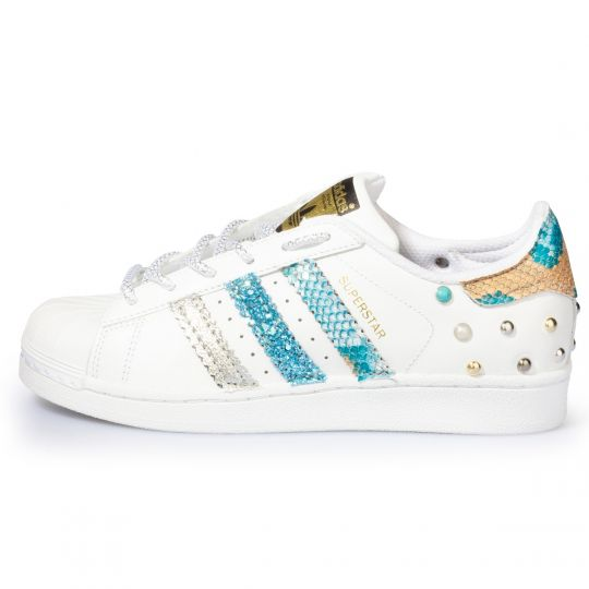 adidas superstar triple cyan pytho