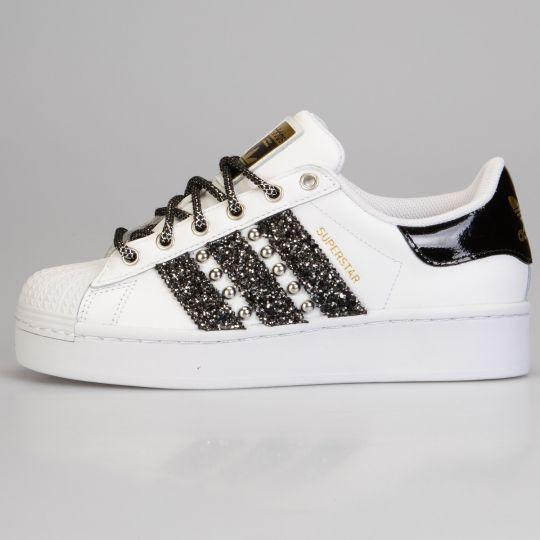Adidas Superstar Wu-tang Bold Black Platform