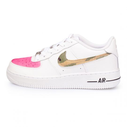 air force low camo fluo fuxia XX