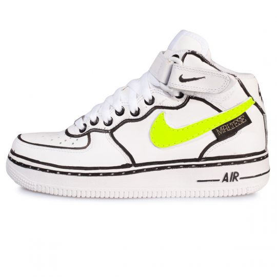 AIR FORCE MID NEON PROFILE