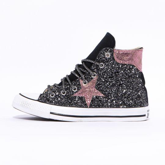 All Star Black De-la stars Dark Rose