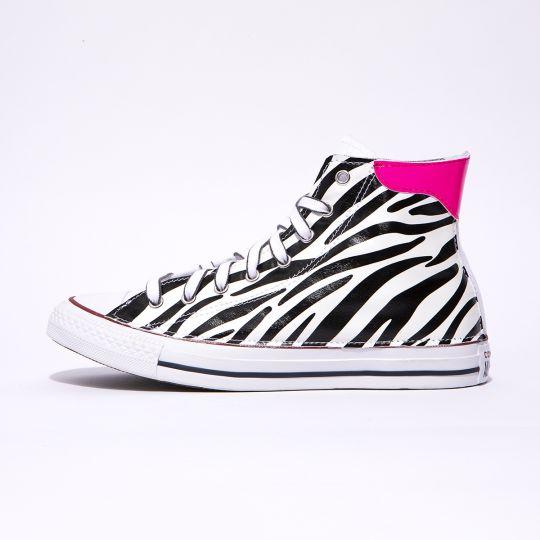all star de-la fuxia neon zebra