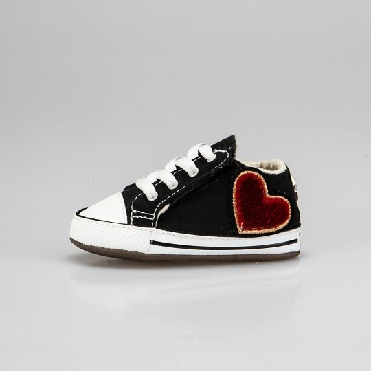 All Star Hi Black Love-patch Culla