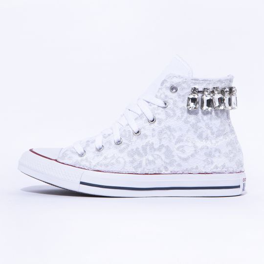 all star hi STONED CRYSTAL LACY