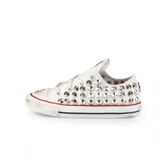 ALL STAR LOW white CONE KID
