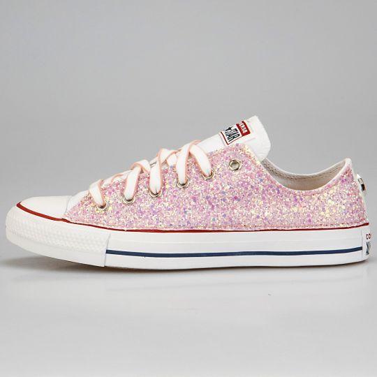 All Star Low White Runaways Pinky