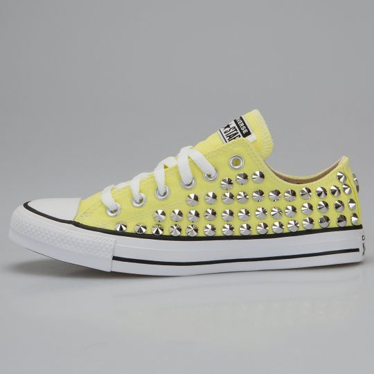 All Star Low Yellow Full Studs