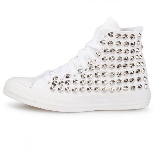 all star MONOCHROME WHITE cone HI