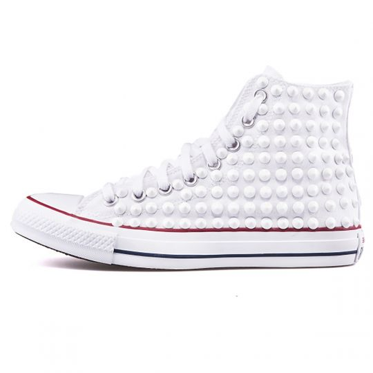 all star OPTICAL WHITE FULL HI CONE
