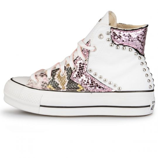Platform Hi White Imls Mirror Jungle