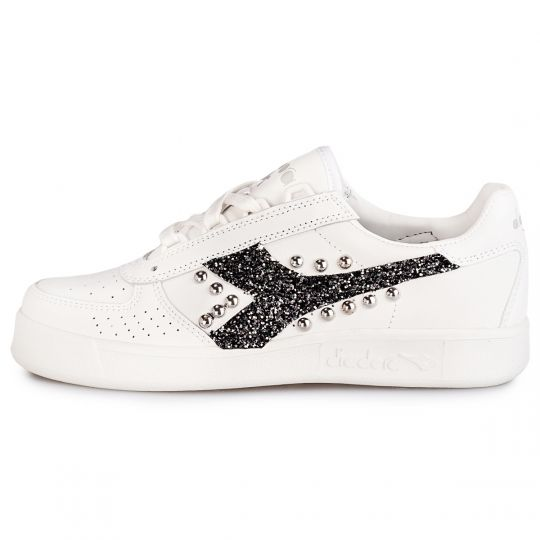 diadora elite glitter black