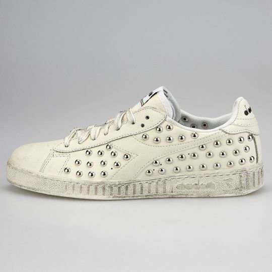 DIADORA GAME WHITE STUDS