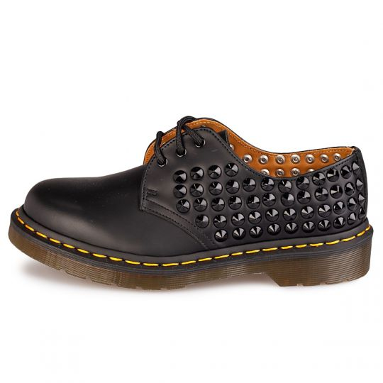 dr. martens low black modfather
