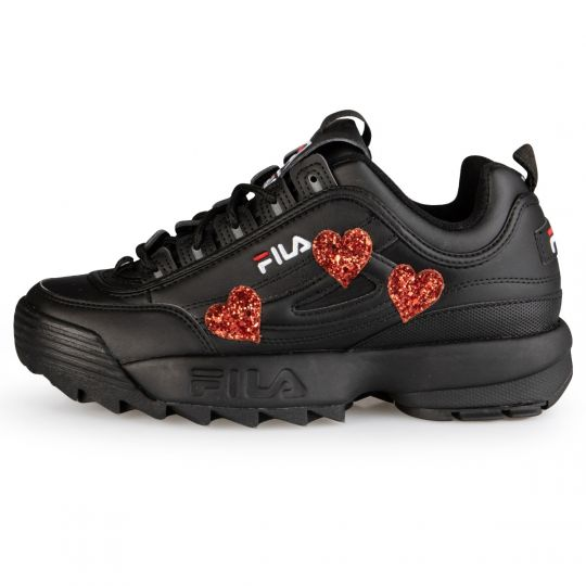 Fila Disruptor Black  Heart Procession