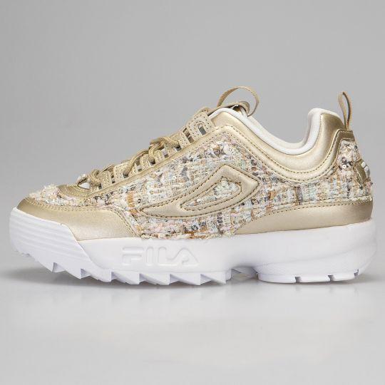 Fila Disruptor II Gold Couture