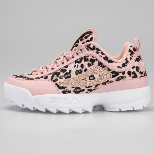 Fila Disruptor II Pink Animalier Glitter