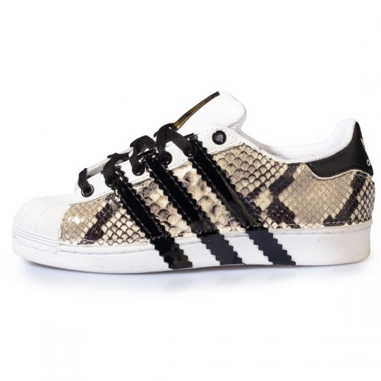 ADIDAS SUPERSTAR PYTHO STRIPES
