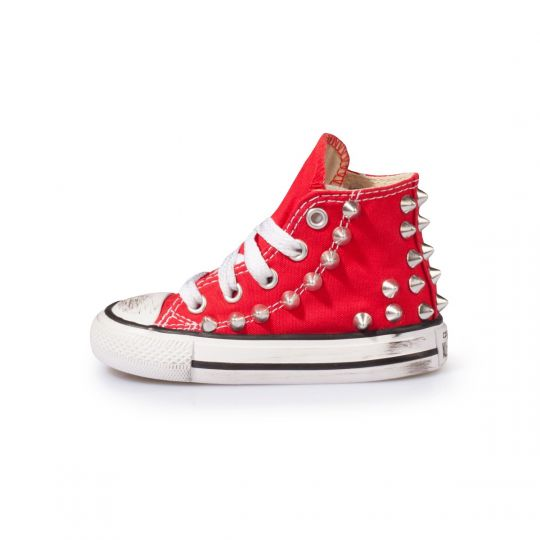 All star hi RED BACK STUDS Kid