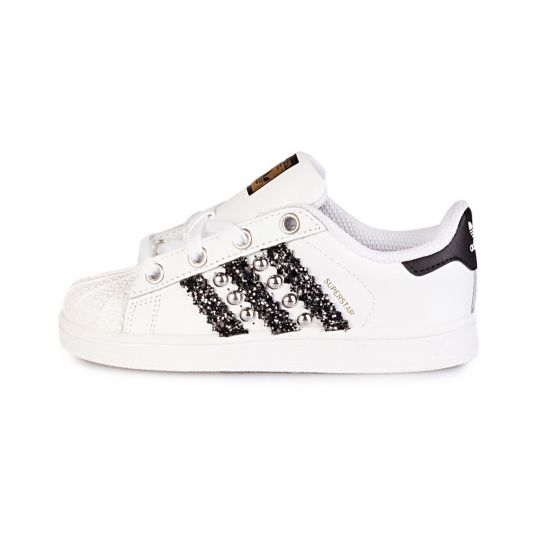 LACES black STRIPES KID ( 20-34 )