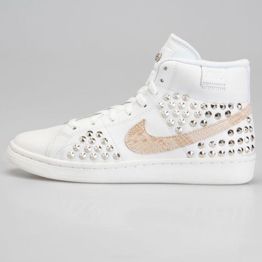 Nike Court Hi White Jungle Studs