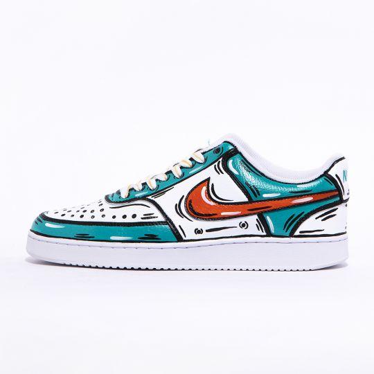 Nike Court White Cosplay Goemon