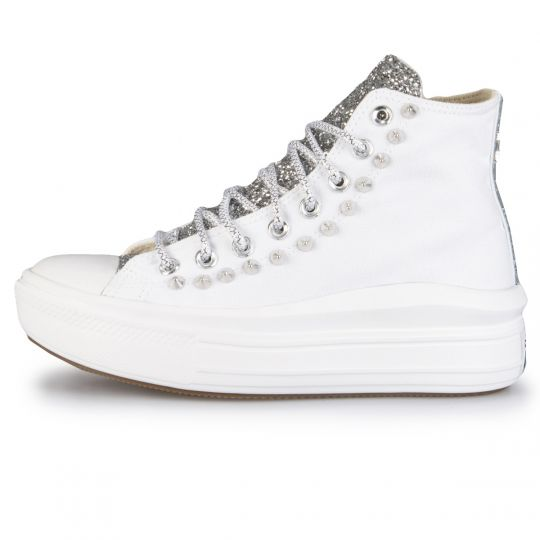 Platform Hi Move Mono White Runaways Back studs