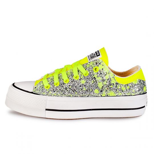 PLATFORM LOW DE-LA DRIP FLUO YELLOW